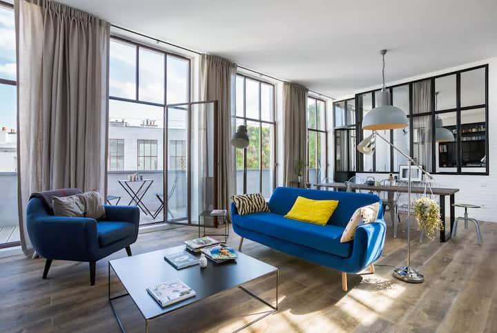Industrial luxury loft- Bastille