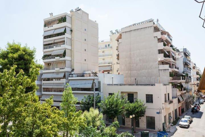 Athens in old historic neighborhood
