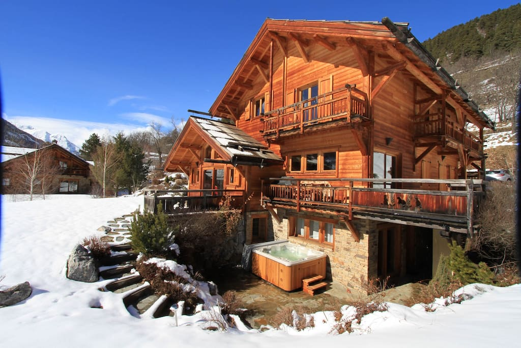chalet luxe marmotte dans la station de ski serre chevalier hautes alpes chalets 224 louer 224