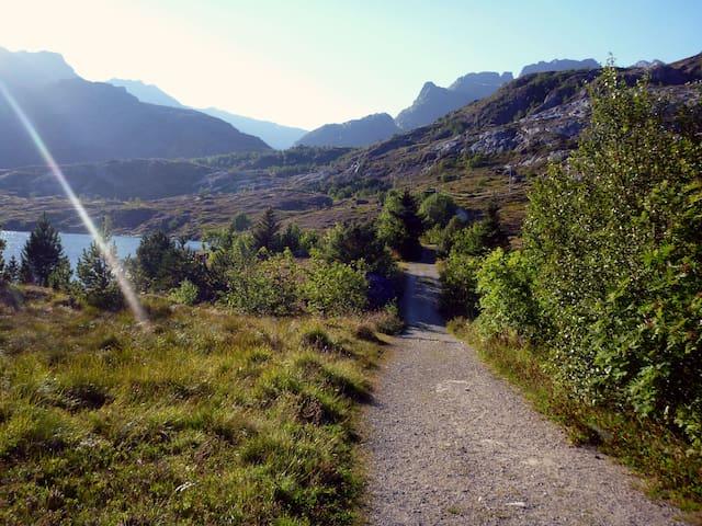 Klippen, Sørvågen i Lofoten - Nordland - Huis