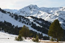 Ax-les-Thermes in the Pyrenees - just a couple of hours south. This was taken in January!