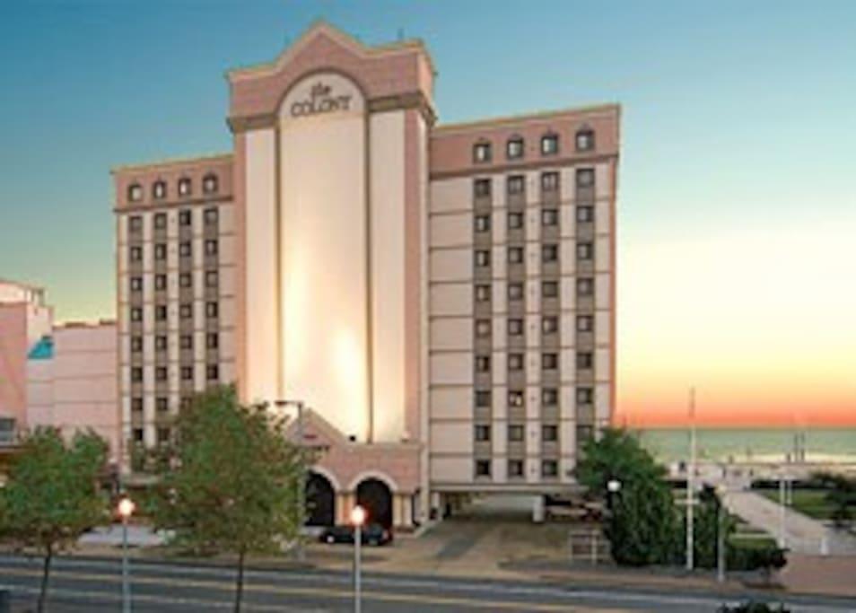 Condo Suite Oceanfront The Colony Va Beach Resorts Para Alugar Em Virginia Beach Virg Nia