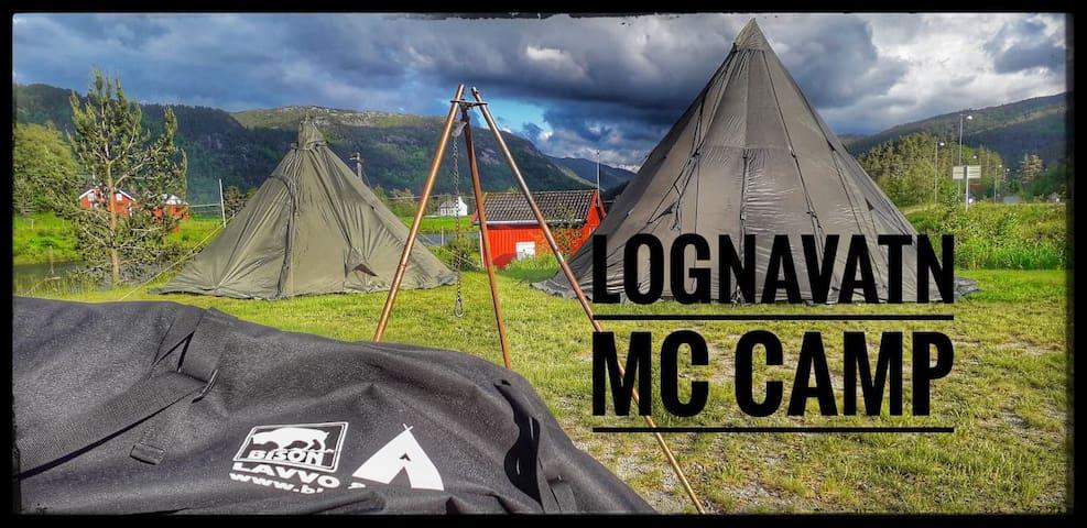 Lognavatn Mc Camp, overnatting for motorsyklister