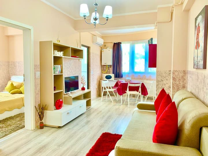 Luxury 4 Stars apartment for 6 near Palas Mall