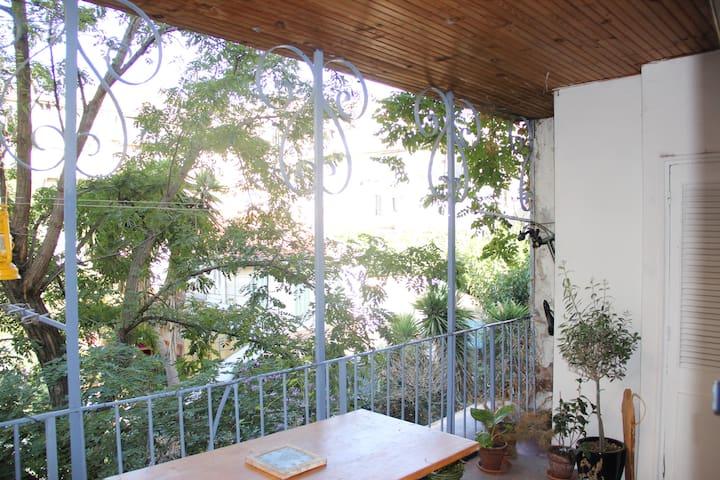 Charming 2 bedrooms with shady terrace - La Plaine - Marseille - Apartemen