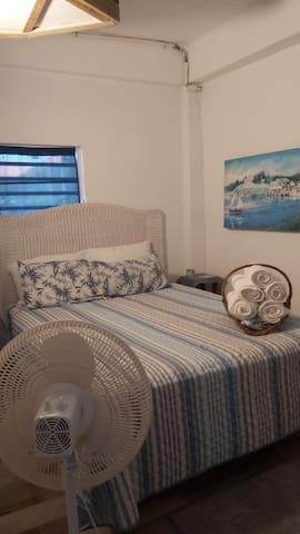 Downstairs Bedroom Queen size bed
