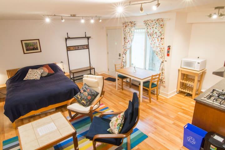 Cozy Suite in Central North Van