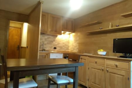 Ski-in/Ski-out apartment in the middle of town! - Breuil-Cervinia - Apartamento