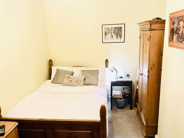 Double bedroom in the historic town of Leek.