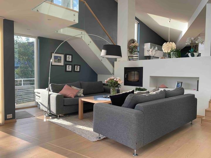 Moderne hus for 2 familier