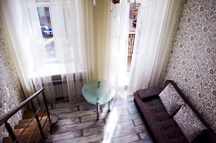 The best apartment in the center of Odessa.
