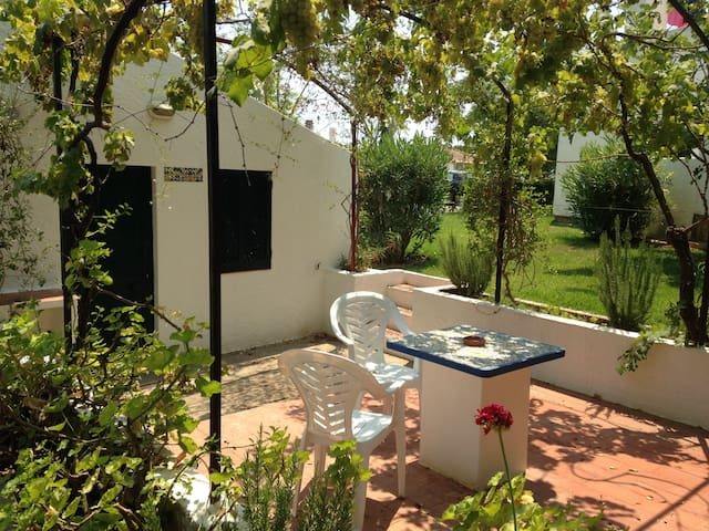 Spacious studio with private garden - Santa Luzia