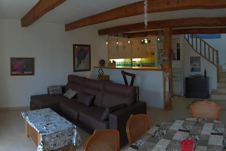 La Gabinèla - Maison Vigneronne 70m2 Plein Sud - Montblanc