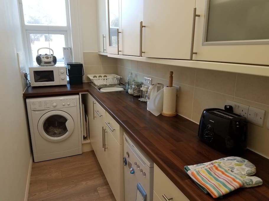 New Kitchen - very well equipped