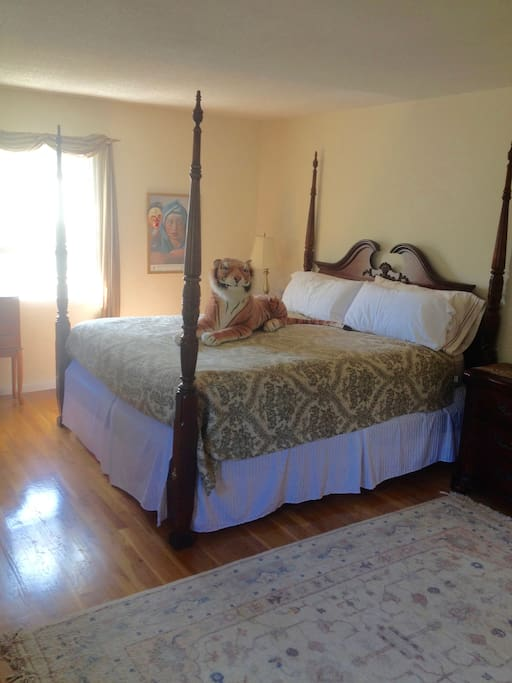 If this room is unavailable, please see two other listings with the TIGER on the bed. Room* + Private Bath Lawrenceville Princeton