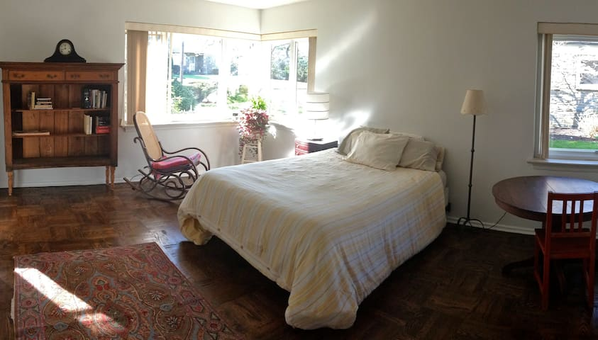 Bedroom in Quiet House - Wyncote - Casa