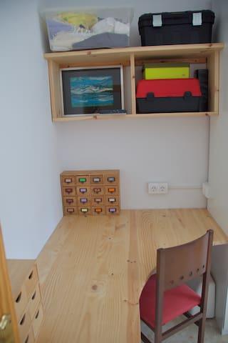 Desk Area in Twin Room
