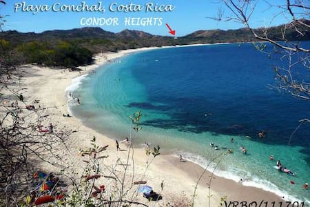 Paradise on Earth with Ocean and Beach Views - Playa Conchal - Condominium - 1