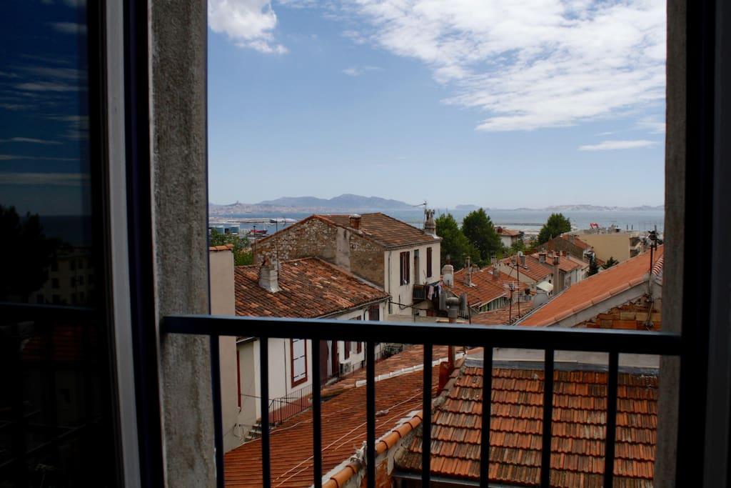 vue de la chambre 1