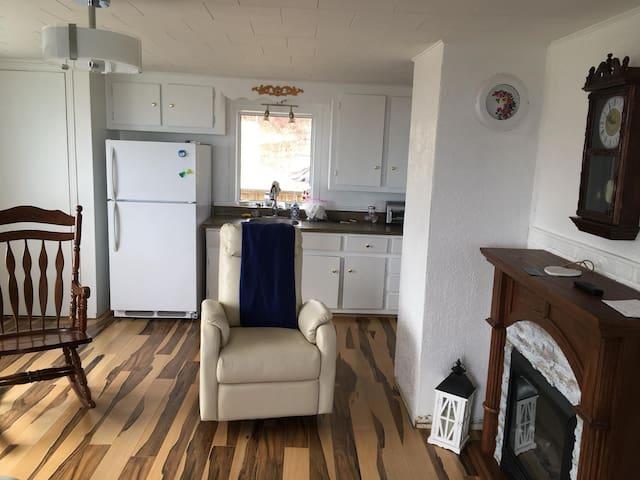 Maison à louer en Gaspésie  vue sur la mer