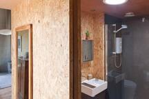Bathroom, Hallway