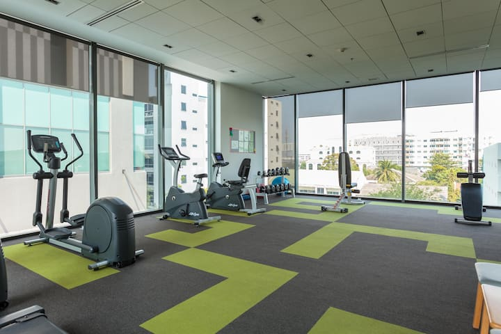 Gym on the 4th floor