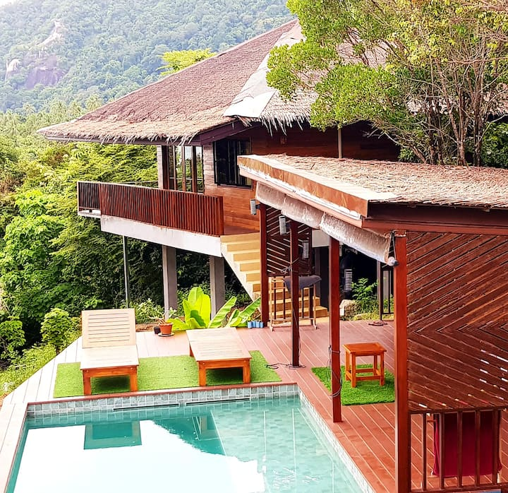 Stunning Sea View Jungle Eco-House