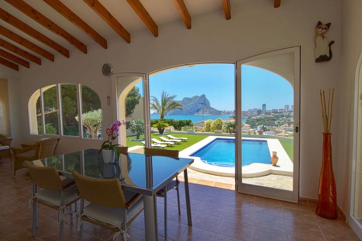 Cozy Villa LEVADIA with the pool & great view