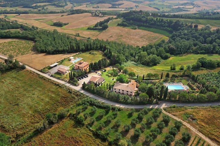 Apartment (Melograno) Volterra,San Gimignano,Pisa - Peccioli - Квартира