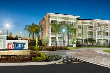 Beachy Condo Near Universal Studios & Everywhere - Apartment