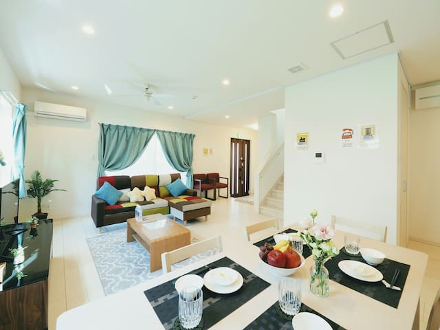 Zakimi Resort 3rooms 2toilet and 2 bathroom
