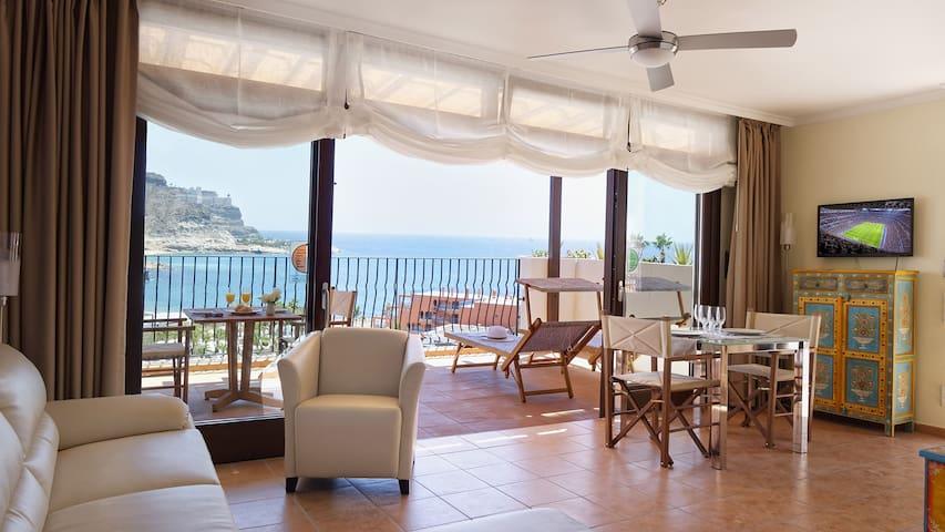 Apartamento con vistas al mar - Mogán - Appartement