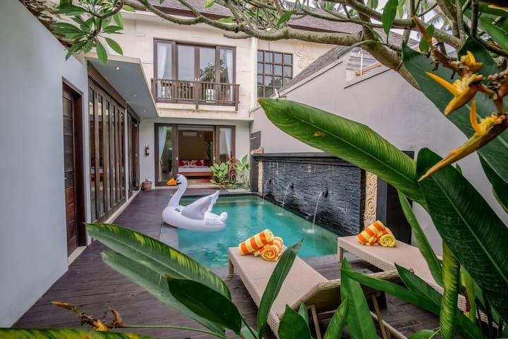 Villa 2BR Private Pool - Ubud area