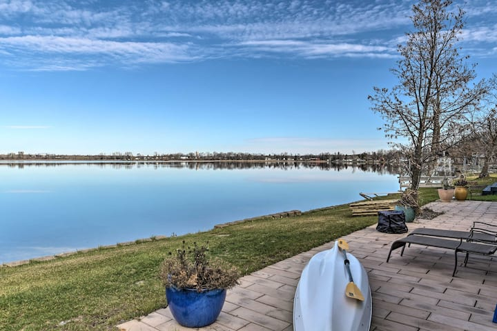 Lakefront Home 10 Min from Detroit Mountain!