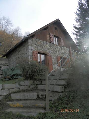 location chalet de montagne - Ustou - Chalé