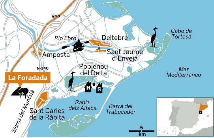 Sant Carles de la Rapita et découverte du delta de l'Ebre