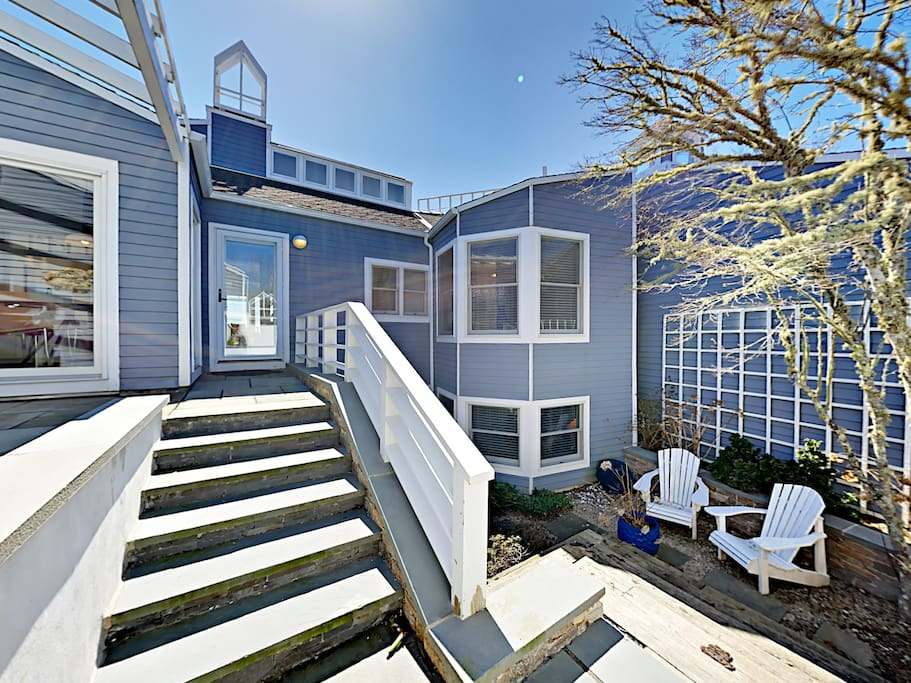 Welcome to New Seabury! Your rental is professionally managed by TurnKey Vacation Rentals.