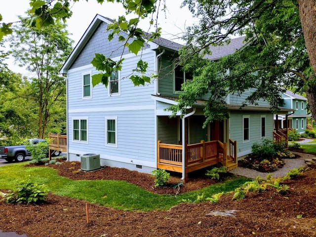 At Home in Asheville: Comfort, Location, Amenities