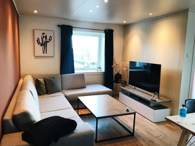 Private room in modern apartment near city centre