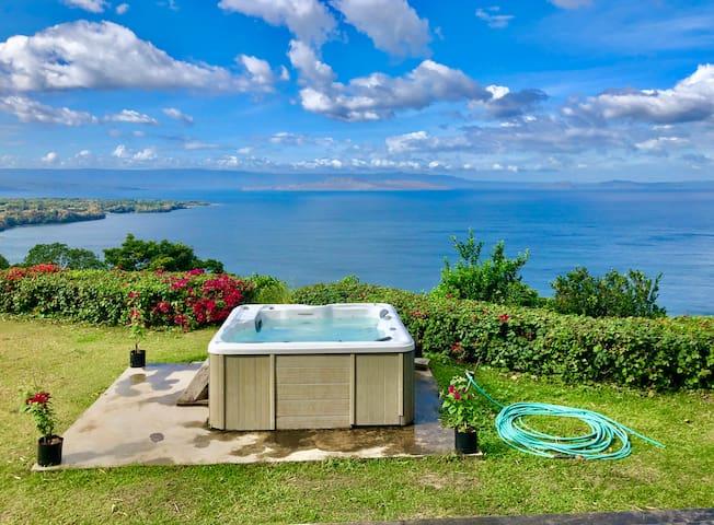 Taal Lake Views - Ataalaya Farmhouse Twin Bedroom