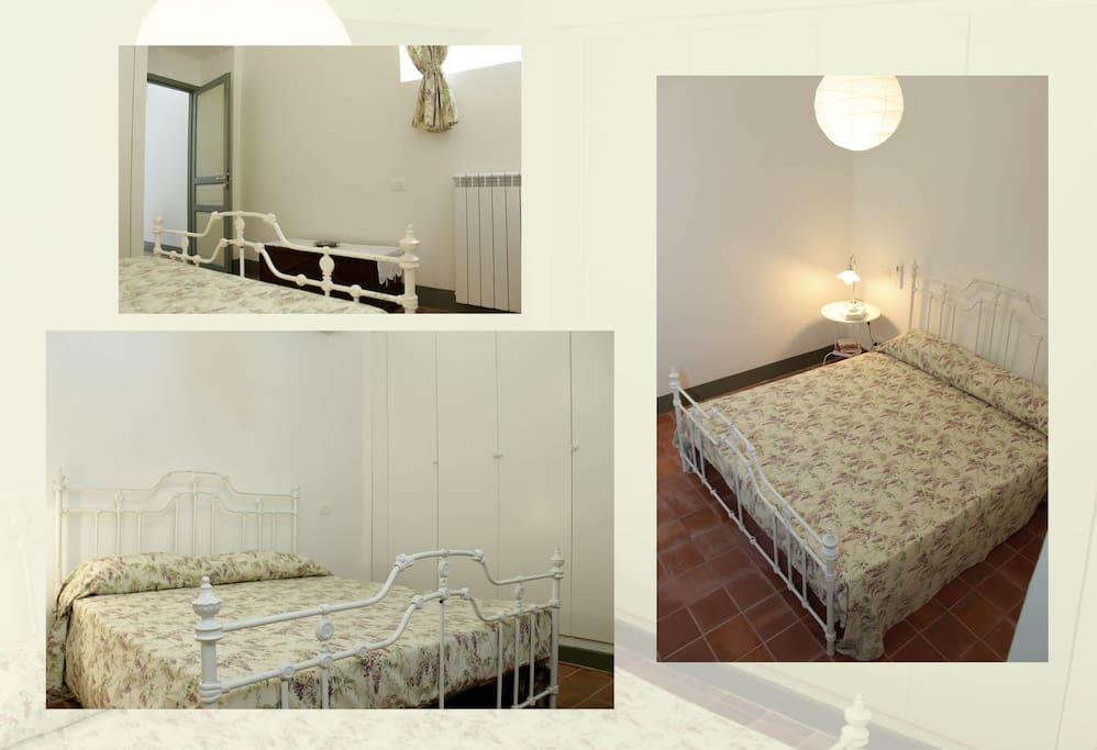 camera da letto 1 - tre immagini