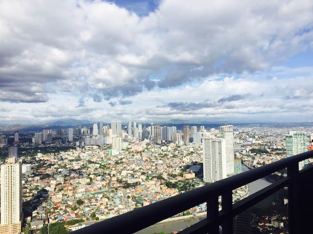 Free 1 night!Central location & breathtaking views - Makati - Wohnung