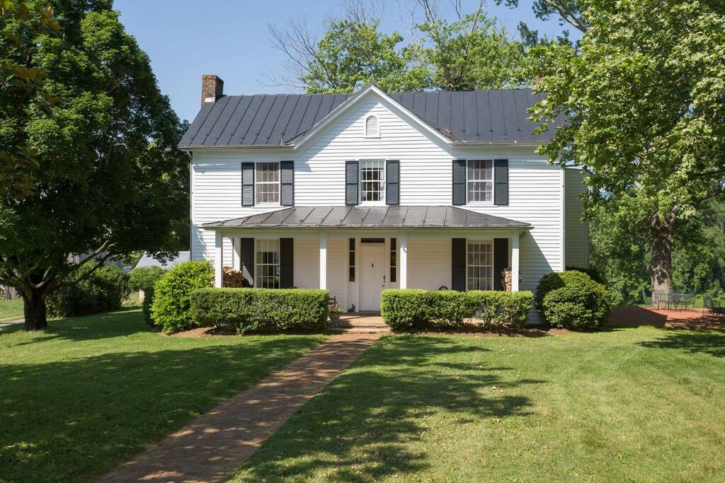 Classic Virginia Farmhouse built in 1875, recently renovated