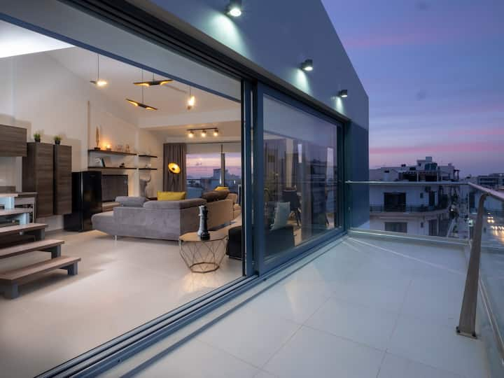 Two brand new penthouse lofts with Sea view