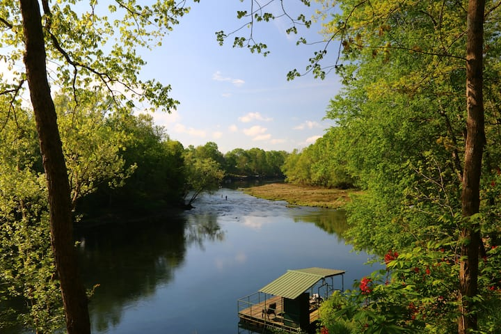 Best View & Walk in Access on Little Red River!