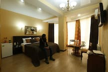 Golden House Hotel в Sochi номер Studio
