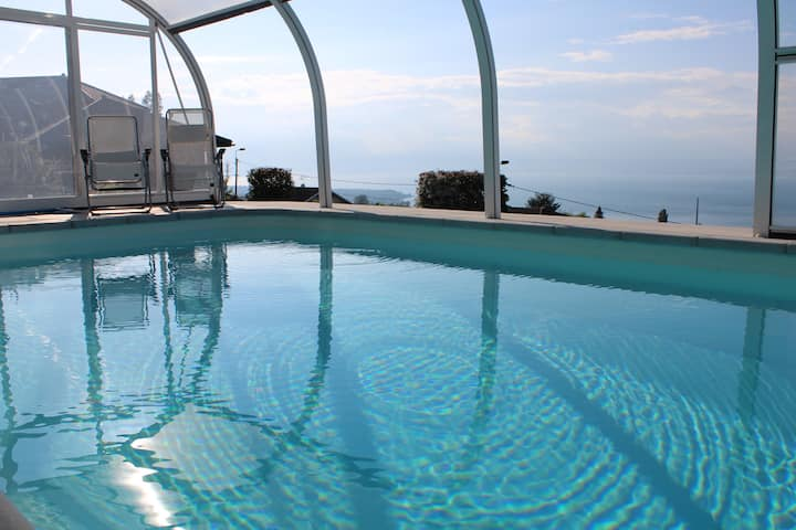 La grande escapade - piscine, spa & vue