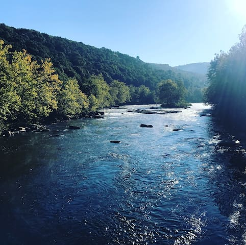 Rafferty Manor Artist Retreat in Ohiopyle