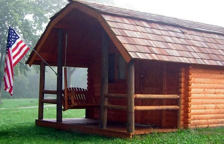Cozy cabins near downtown Indy