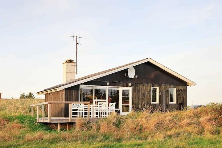 Serena casa vacanze a Thisted con terrazza